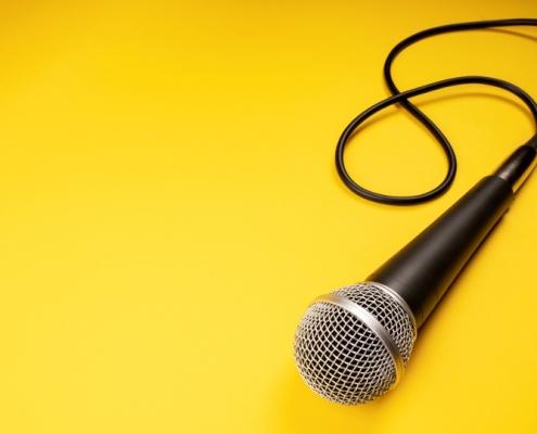 mikrofon dubbning